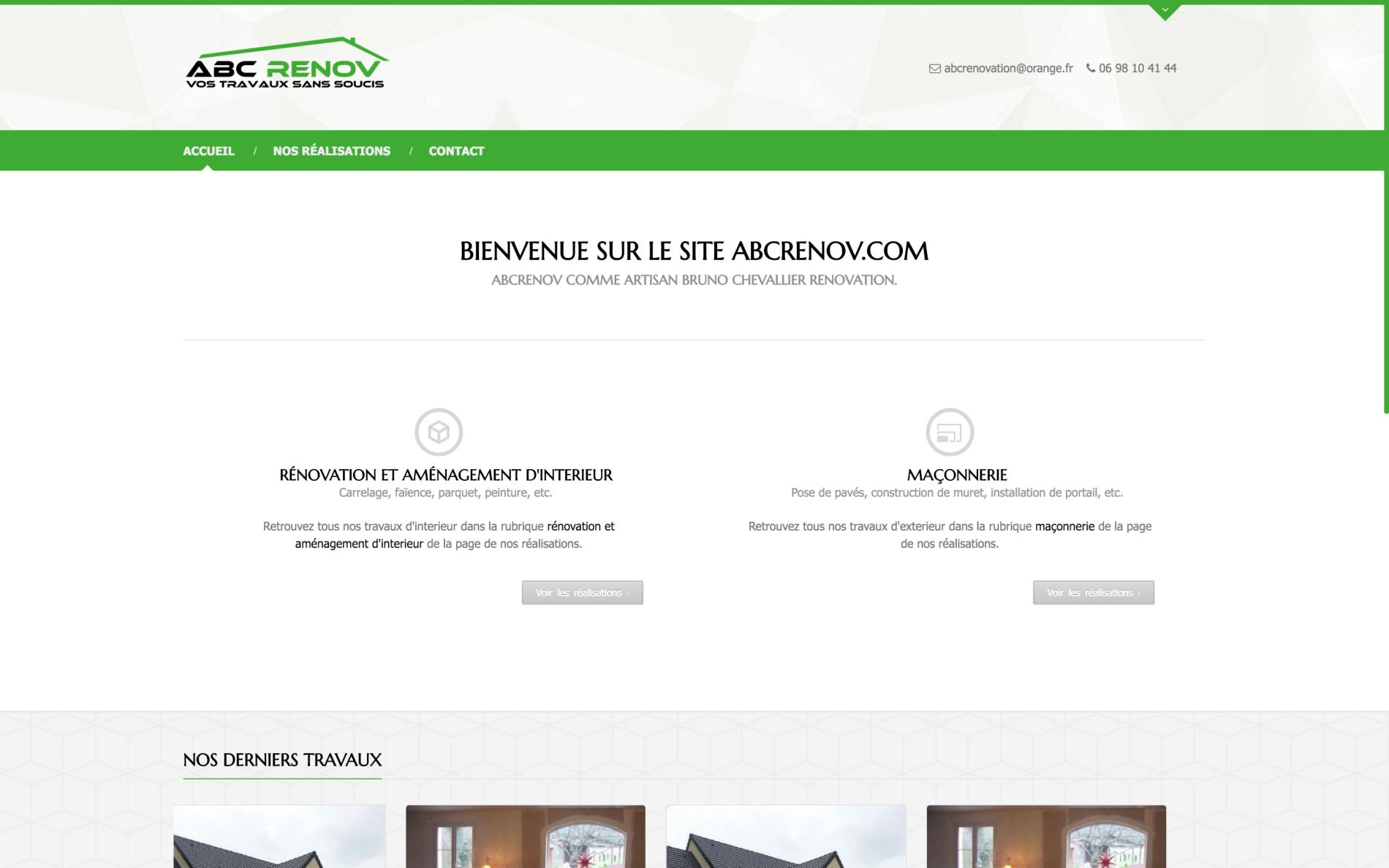 Brand Imaging creation for ABC Renov - David Ronchaud