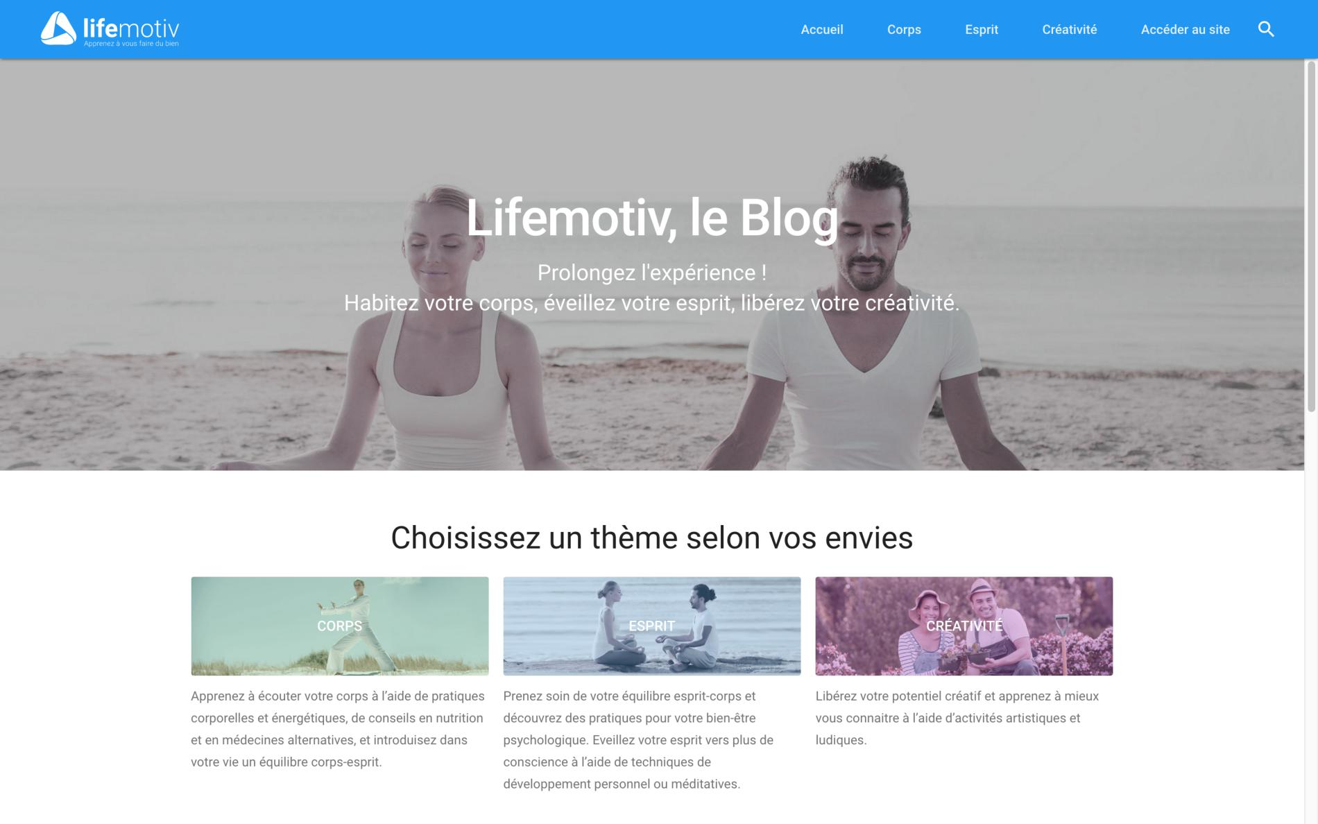 Lifemotiv Blog home page