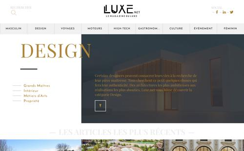 Home page luxe.net